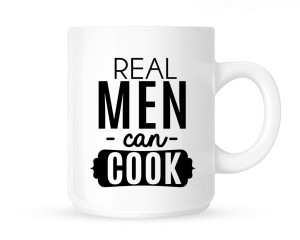 Kubek REAL MEN CAN COOK
